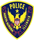 north aurora police Badge