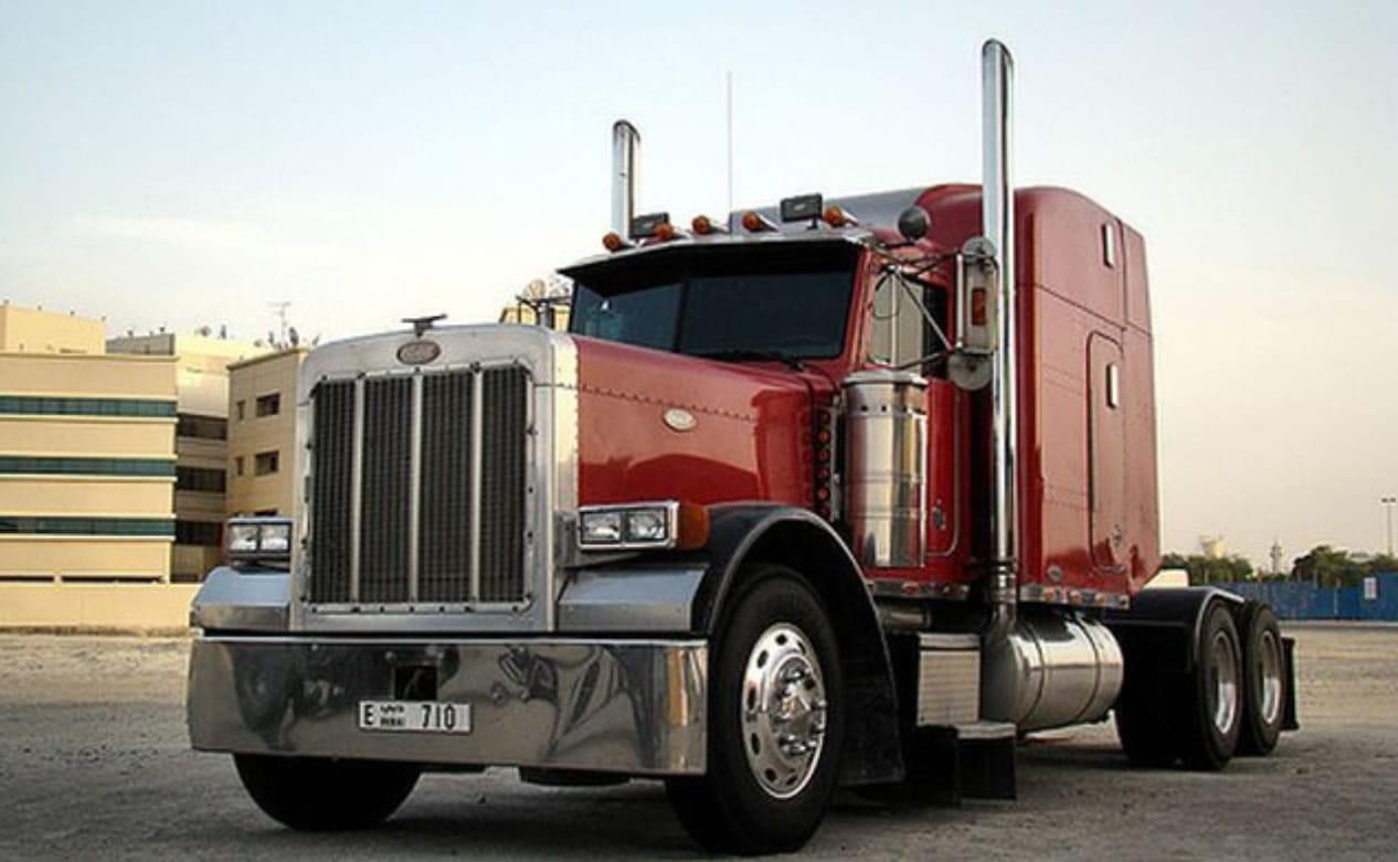 semi truck pull start